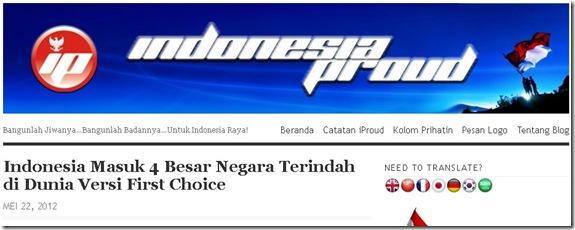indonesia proud