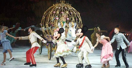 disney on ice - closing