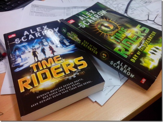Time Rider - 1 and 2